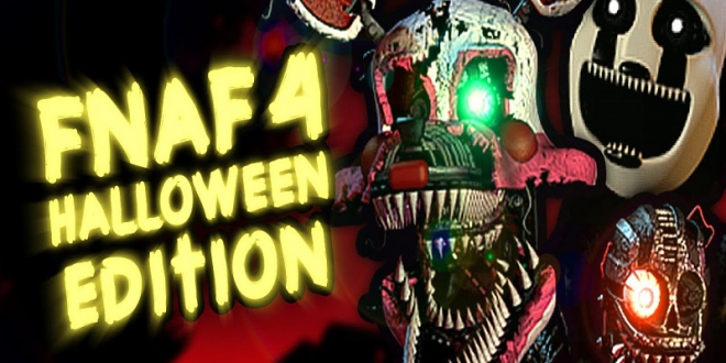 Five Nights at Freddy's 8-bit 2 Halloween Edition