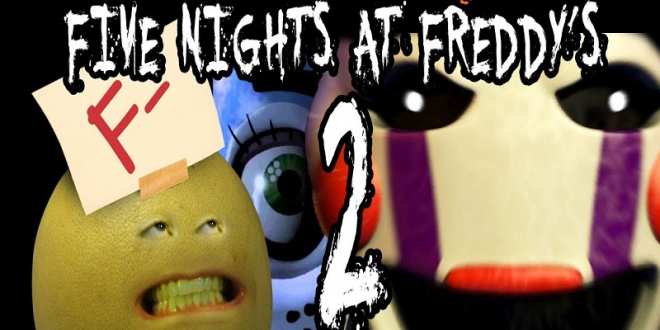 Five Nights at Angry Grandpa's (Five Nights at Freddy's Parody)