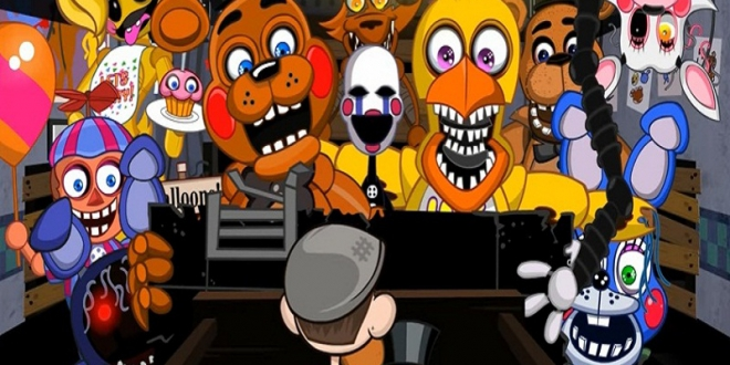 Five Nights At Freddy's 2 Animation | Jacksepticeye Animated Video