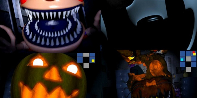 FIVE NIGHTS AT FREDDY'S 4: GOOGLE SLIDES EDITION
