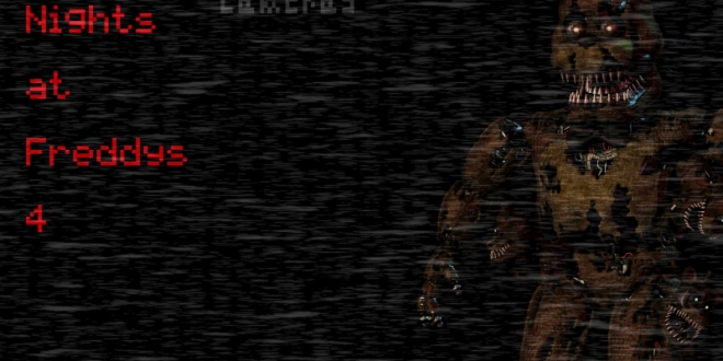 Five Nights at Freddy's 4 Camera Edition (PowerPoint Game)