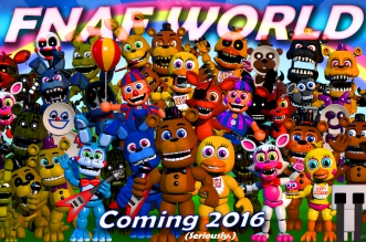 Five Nights At Freddy's World (Halloween-Edition)