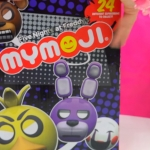 Full Box of 24 Five Nights At Freddy's MyMojis Surprise Blind Bags   FNAF Game Head Ball