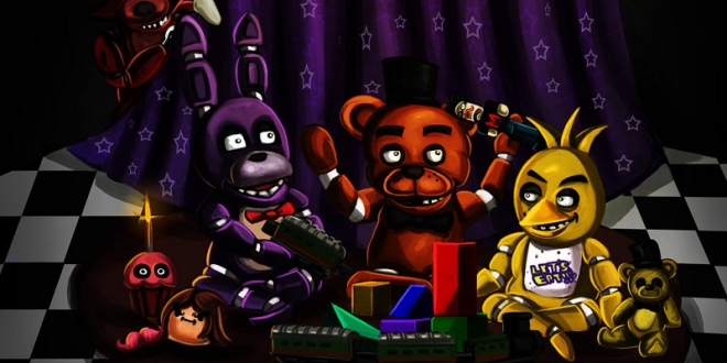 Five Nights At Freddy's 6 Out of bones