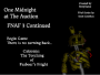 One Midnight at The Auction: FNAF 3 Continued