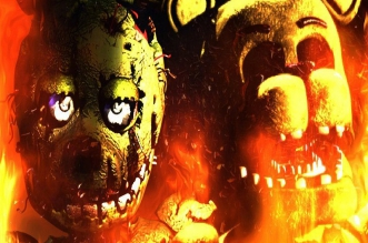 Five Nights at Freddy's After a Fire!