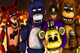 Five Nights at Freddys Animatronic Simulator